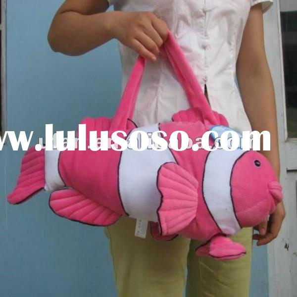 New product for 2012 innovative plush animal toy bag TB030
