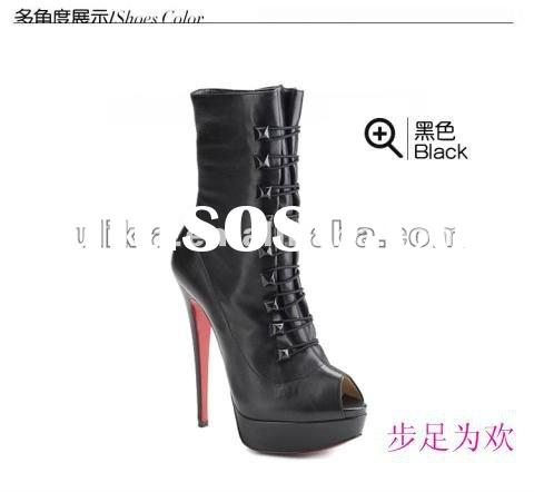 New style 2012 spring summer latest design ladies branded shoes