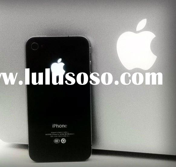 Newest Arrival Luminescent Logo Back Case For Iphone4/4S