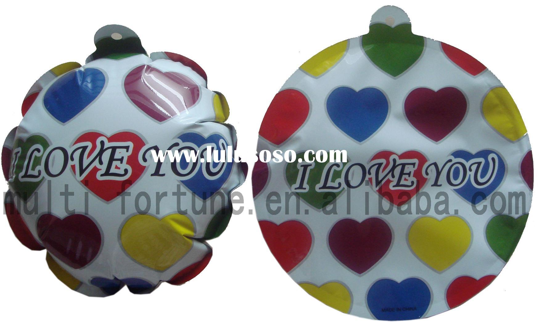 "OEM "" Christmas designs "" Auto inflatable Balloons"