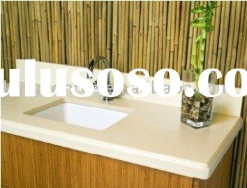 OEM acrylic solid surface bathroom countertop
