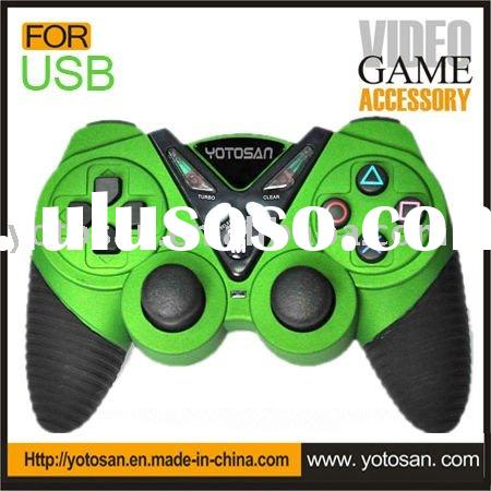 PC usb mini joystick double vibration gamepad