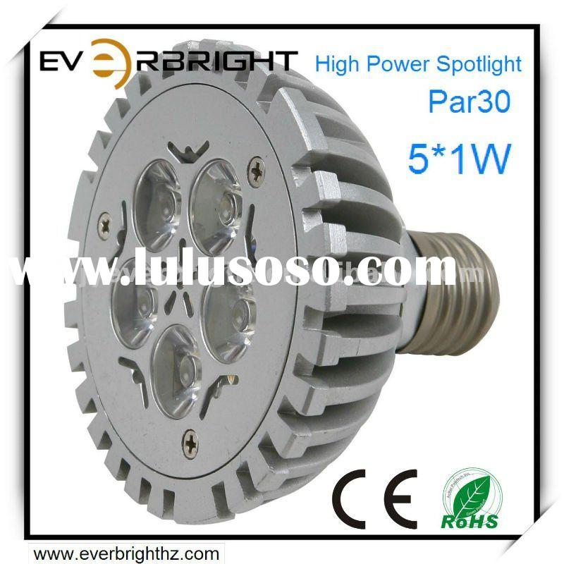 Par30 LED Spotlight 5X1W High Power Led Par Light