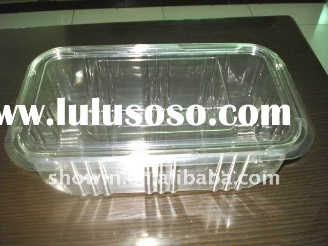Plastic blister bento box,fast food container