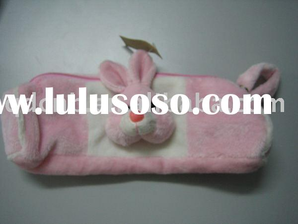 Plush Pencil Case Soft Toy Mat Mini Plush Pencil Bag