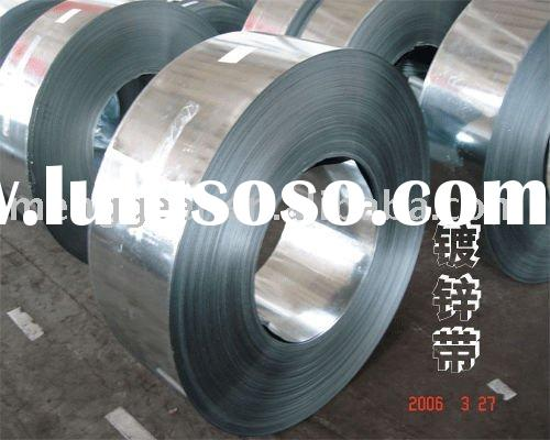 Q195 hot dipped galvanized steel strip