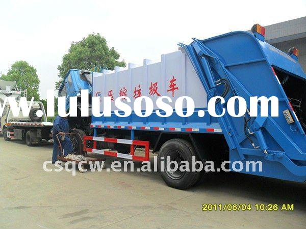 Sealed Compactor Garbage Truck with no re-pollution