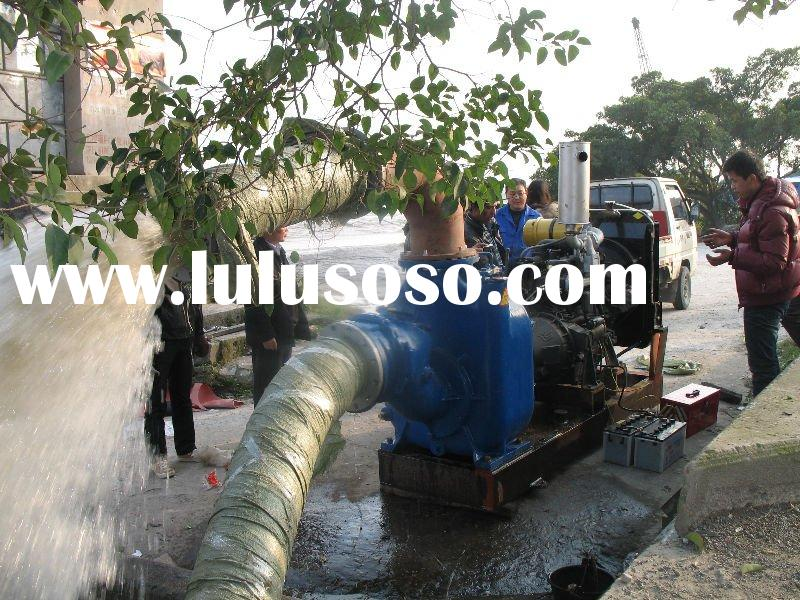 Self-priming Centrifugal Pump/Diesel Self-Priming Non-Clogging Sewage Pump/Hose Pump/Water Pump Set
