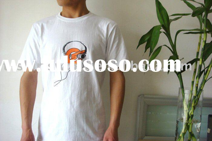 Silk Screen Printing T-shirt Polyester Cotton TSHIRTS