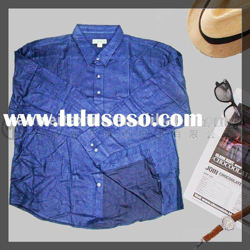 Cotton spandex t shirt with 3 4 long sleeve new color for for Cotton polyester flannel shirts