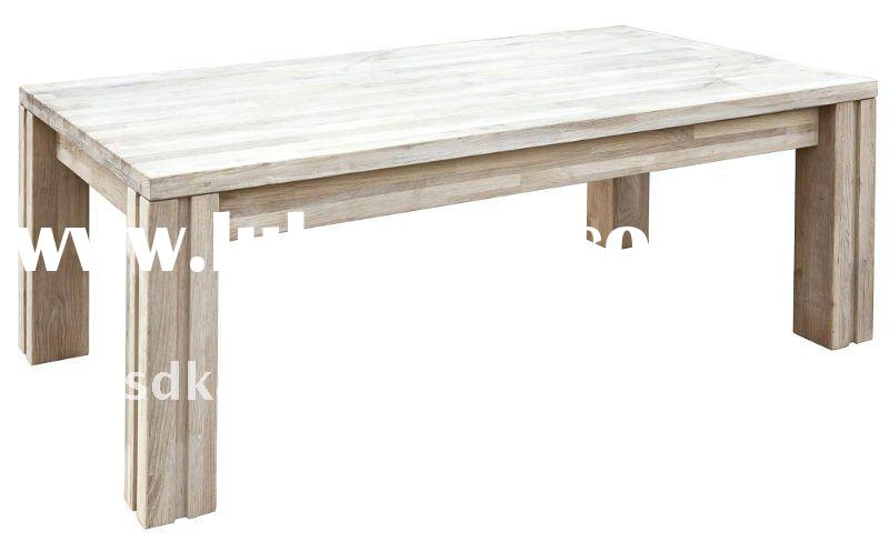 Solid Wood White Oak Coffee Table