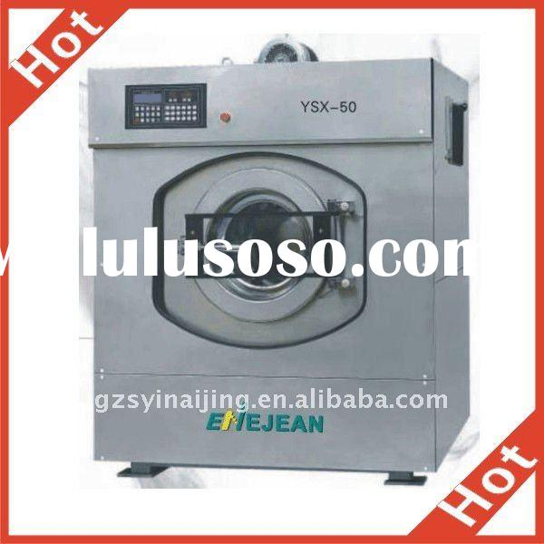 Stainless steel industrial washing machine for hotel and laundry room used