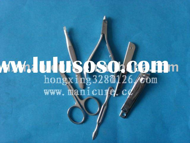 Stainless steel tweezers stainless steel nail file each style beauty tools