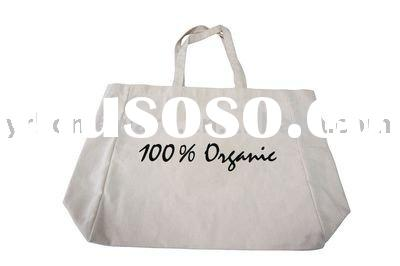 Supermarket organic cotton shopping bag