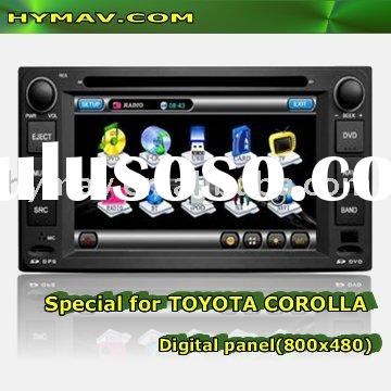 TOYOTA COROLLA HILUX CAR DVD GPS SYSTEM With Pictures in Pictures, CANBUS, Steering wheel control.Du