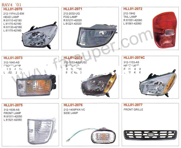 toyota ipsum sxn20 1996 auto lamp and body parts for sale. Black Bedroom Furniture Sets. Home Design Ideas
