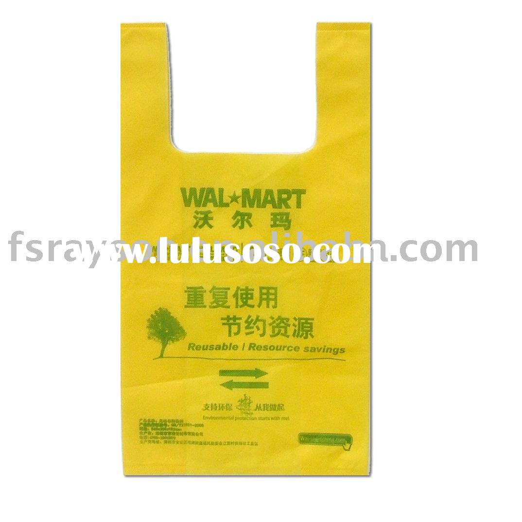 T-SHIRT BAG,biodegradable shopping bag,vest shopping bag