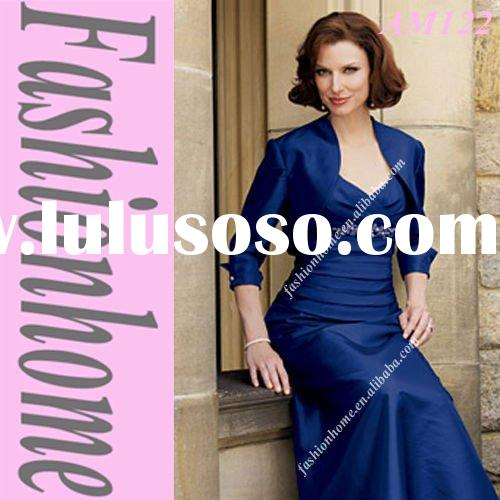Taffeta formal women suit , Lady party gown, Royal blue fashion evening dress AM122