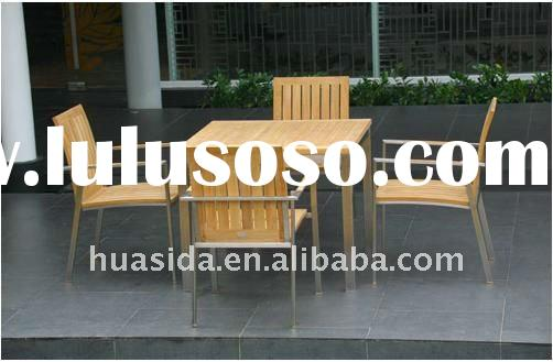 Teak Wood Furniture Outdoor Dining Set wooden dining set