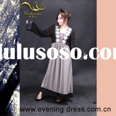 The latest abaya fashion designs abaya for women dubai 2012 KSL05