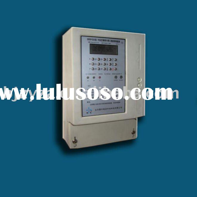 Three Phase Code Prepaid Energy Meter