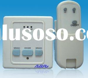 Three Speed Ceiling Fan Switch with IR Remote Control