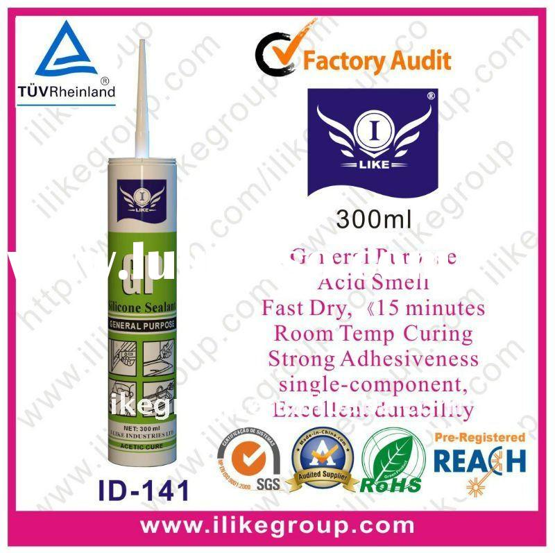 Top Quality Silicone Sealant (SGS, TUV, RoHS, REACH Certification)