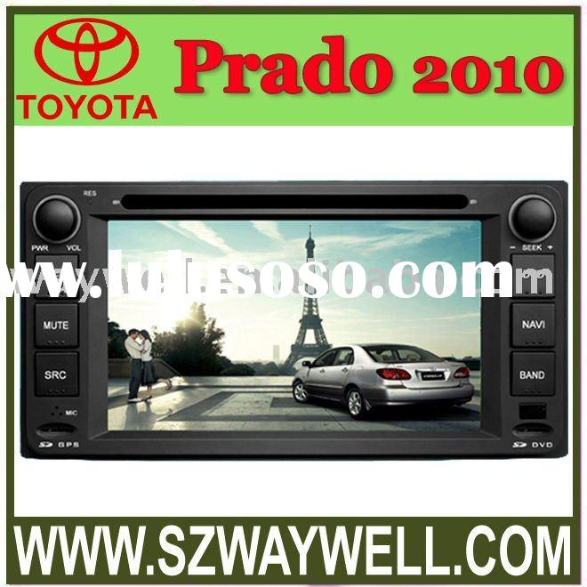 Toyota Prado 2010 with CANBUS Car DVD GPS Navigation Bluetooth Radio IPOD Touch Screen Video Audio P