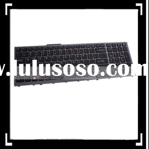US Layout Laptop Keyboard for Sony VPC-F11/F12 Series with Backlight Black