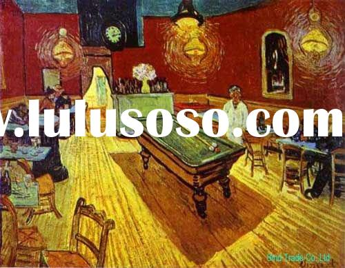 Vincent van gogh painting names on canvas