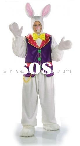 WHITE RABBIT ALICE IN WONDERLAND character costumes(BSMC-0264)