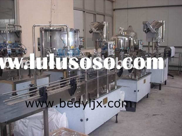 Washing,Filling and Capping production line for pure water, mineral water, fruit juice,spirit