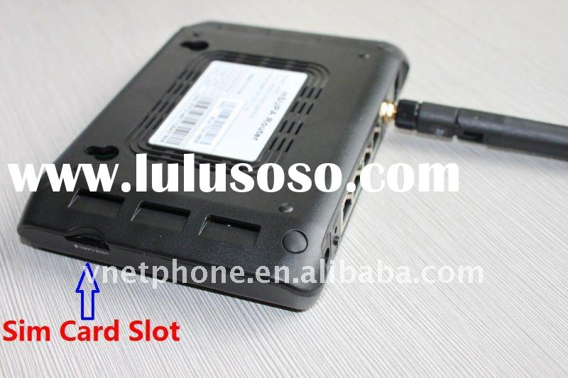 Wireless with Sim card 3G router