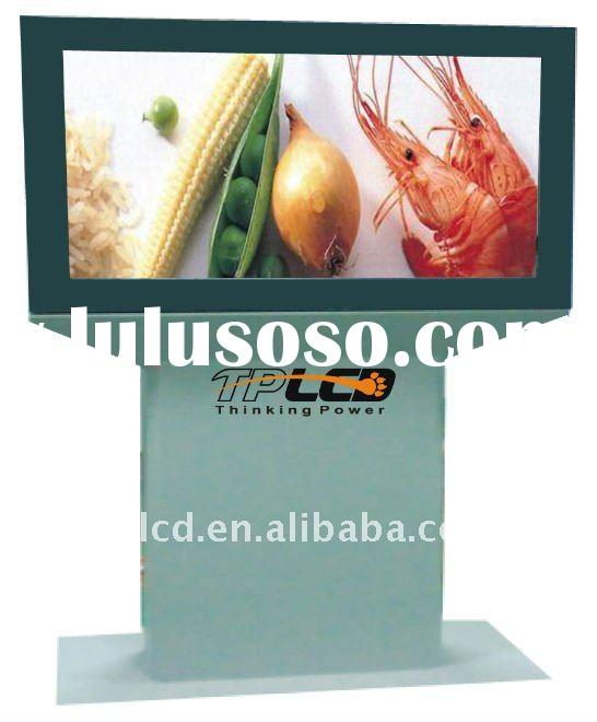 big size outdoor advertising LCD totem display