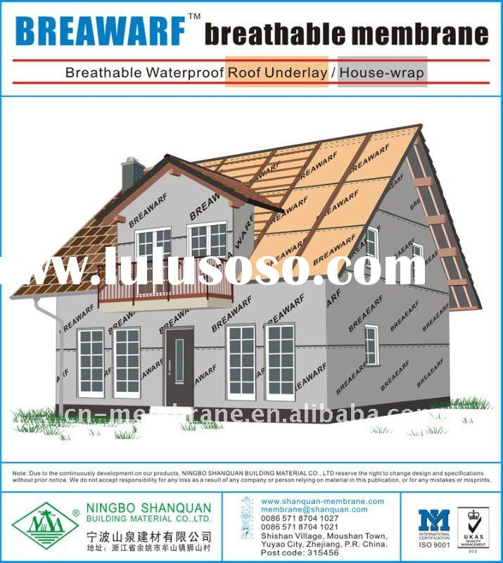 House Wrap Or Membrane Or Vapor Barrier For Sale Price