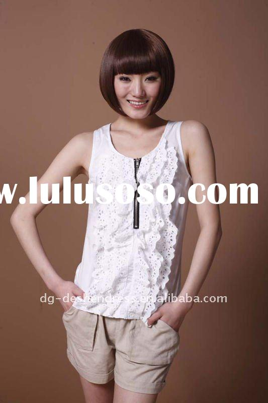 casual linen cotton lady beads fashion woven women apparel
