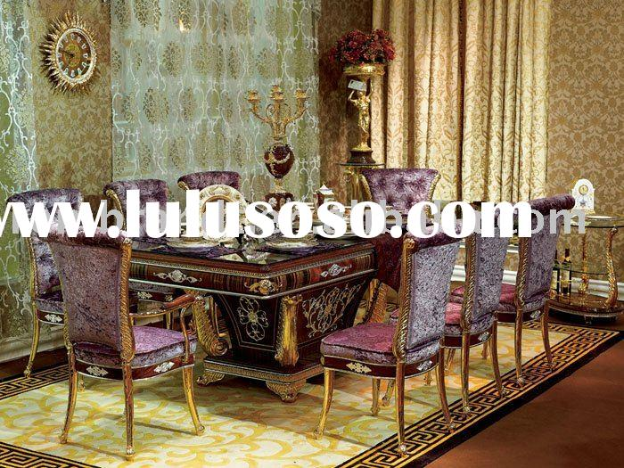 classical wooden dining room set