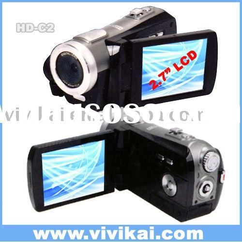 digital video camera,digital video camcorder HDC2 with 2.7 TFT LCD