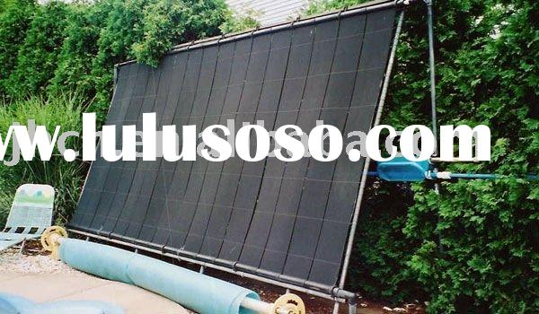 epdm swimming pool plastic solar water heater,manufacturer,china supplier