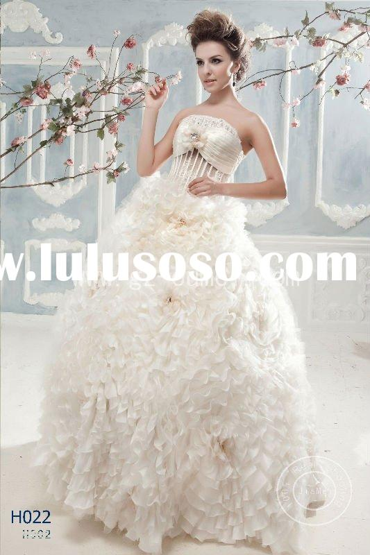 fairy wedding dress Lace bead mesh embroidery bridal ball gown