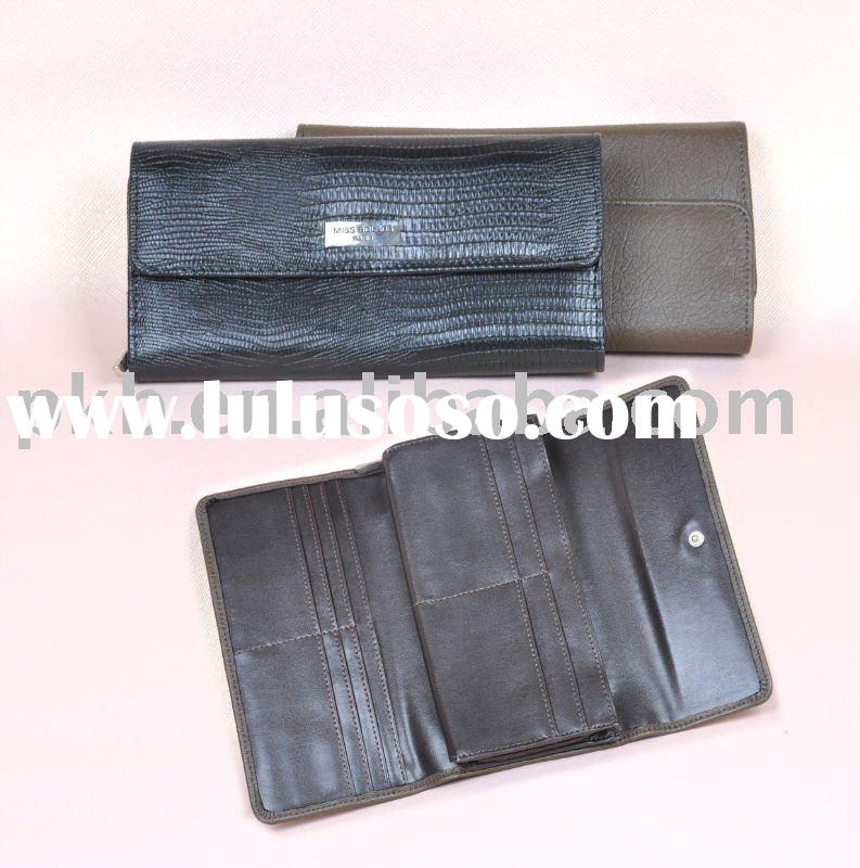 fashion black women wallet