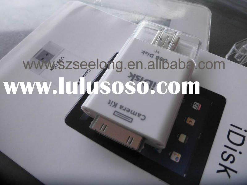 for ipad external memory card connection kit, USB &30 pin card reader for ipad, usb camera conne