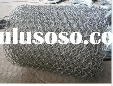 hot dipped galvanized/gray pvc coated GABIONS(factory)