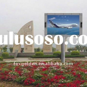 hot outdoor full color laptop led screen panel