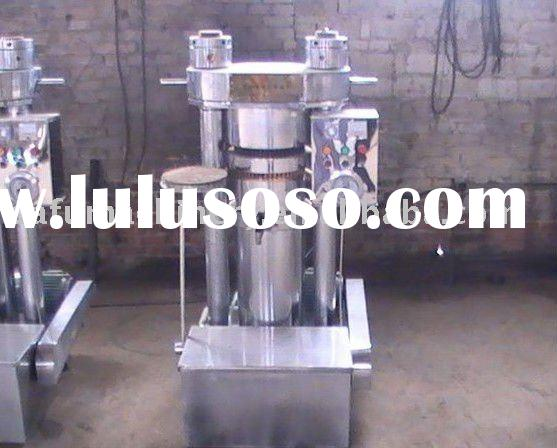 hydraulic oil press machine -for raw materials