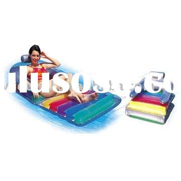 inflatable floating chair\ inflatable water bed\ inflatable beach chair\ air mattress\ folding chiar