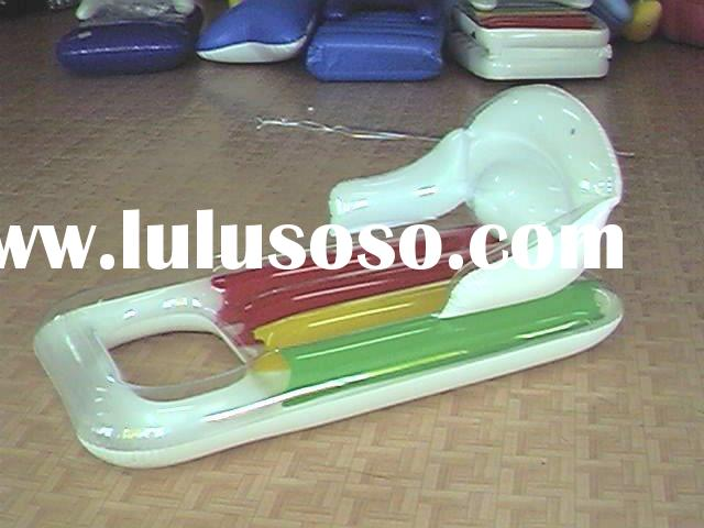 inflatable floating mat, inflatable water bed, inflatable floating chair, inflatable water chair, PV