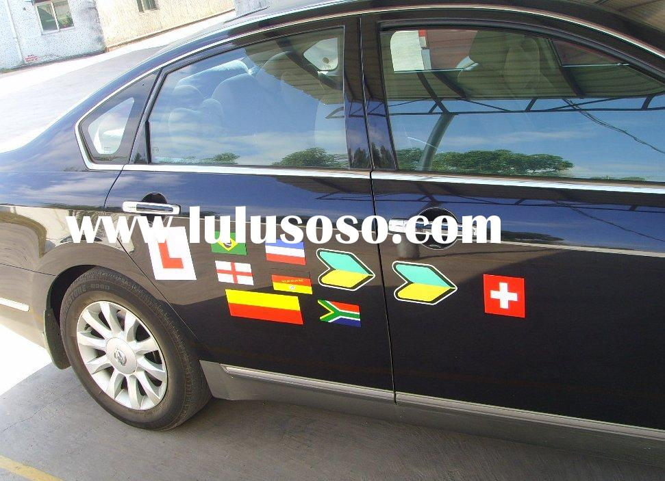 magnetic stickers,vehicle graphics,magnetic sheet+printed vinyl,outdoor use ,advertising materials,p