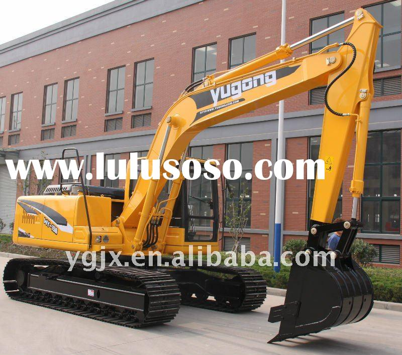 mini crawler excavator heavy construction machinery 0.55 m3 with air-condition