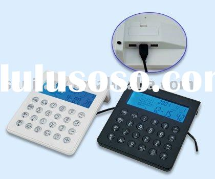 multifunctional calculator,gift calculator,electronic calculator,portable calculator,handheld calcul